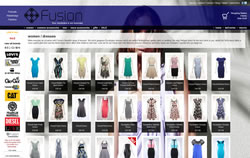 Fusion fashion retailer with branches in Padstow, Wadebridge and Polzeath website screenshot