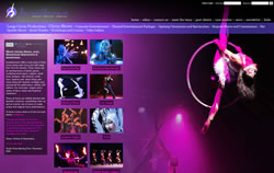 Incandescence website screenshot