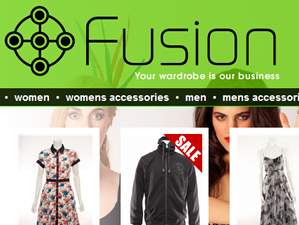 Fusion is an online clothing retail website designed by the Drawing Board, a Cornish web design and marketing solutions company